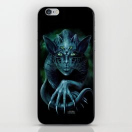 Cat People iPhone Skin