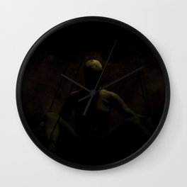 I've Been Waiting For You Wall Clock