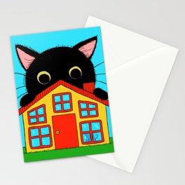 Who Lives There? Stationery Cards