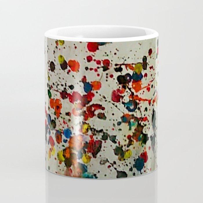 Crayon Splat Coffee Mug
