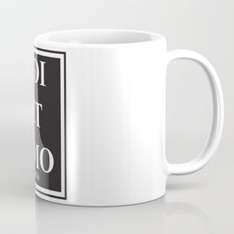 Edi et Amo - Love and hate - Omnia Coffee Mug