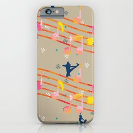 Music Notes Dancers iPhone Case