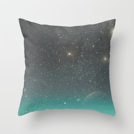 You Were There, in my Deepest Silence Throw Pillow