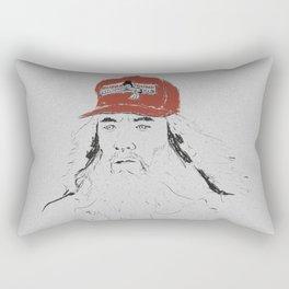 I just felt like runnin'. Rectangular Pillow