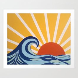 Let Your Sun Shine Art Print