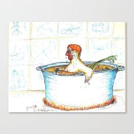 Chicken Soup Canvas Print