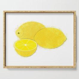 Live Summer-Lemons Serving Tray