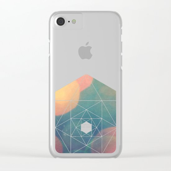 Phosphenes Clear iPhone Case