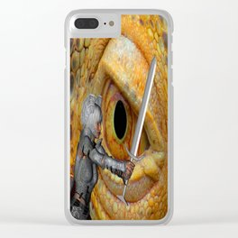 Dragon Slayer 3 Clear iPhone Case