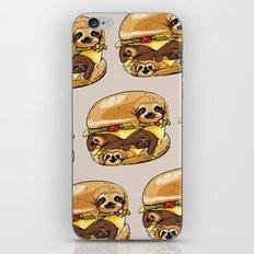 Sloths Burger iPhone & iPod Skin