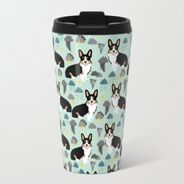 Corgi meteorologist storm chaser welsh corgi fun dog breed customary by pet friendly Travel Mug