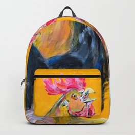 Chickens of Many Colors Backpack