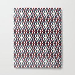 Cool vintag colorful pattern #society6 Metal Print