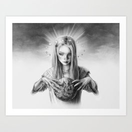 Child God Art Print