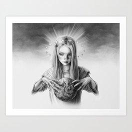 Child God Art Print