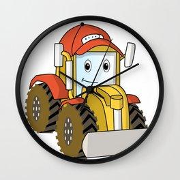 truck toy kids wheeler gift idea Wall Clock