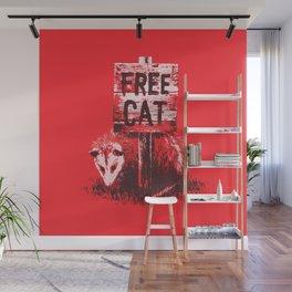 Free cat Wall Mural