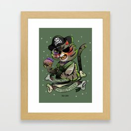Don´t mess with this pussy Framed Art Print