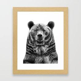 Wilson the Bear Framed Art Print