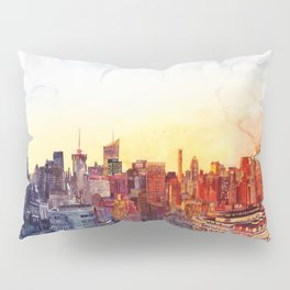 Sunshine in NYC Pillow Sham