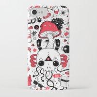 calavera iPhone & iPod Cases featuring Calavera by Giulia Marchetti