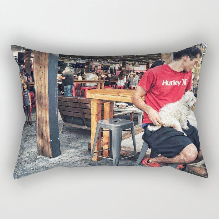 Cozy spot Rectangular Pillow
