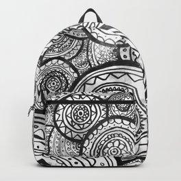 Monochrome Mandalas Backpack