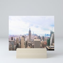 252. Empire View, New York Mini Art Print
