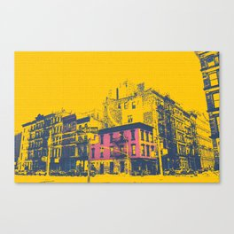 Tribeca, NYC. Corner of Church & White. Canvas Print
