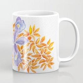 Iris and Butterfly Weeds Coffee Mug