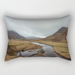 Broken Bridge Valley Mist Rectangular Pillow
