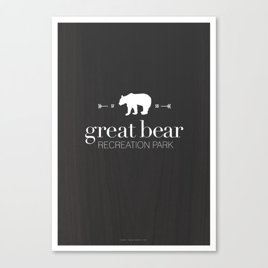 Great Bear Recreation Park Canvas Print