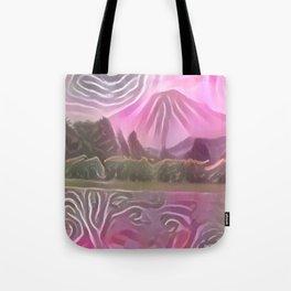 Daisen Dake Pink Tote Bag