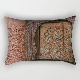 Moroccan Door | Photo print Morocco design on door Marrakech Rectangular Pillow