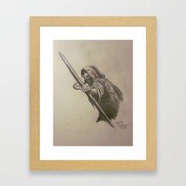 Archer of the Cabra  Framed Art Print