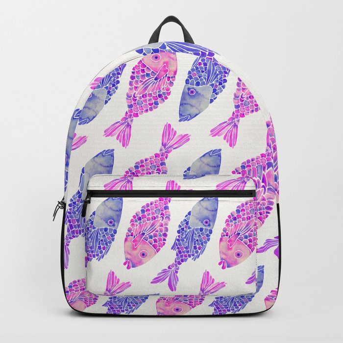 Indonesian Fish Duo – Mermaid Palette Backpack