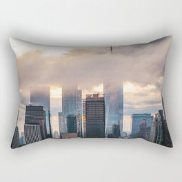 Head in clouds Rectangular Pillow