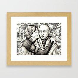 Elves and elfroot Framed Art Print