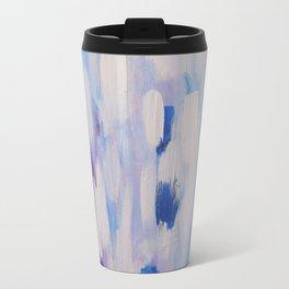 Blue rain of hope Travel Mug