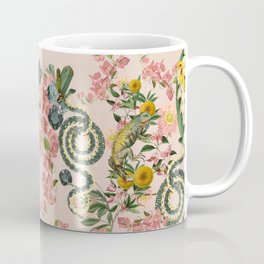 Where lizards live-Pink Coffee Mug