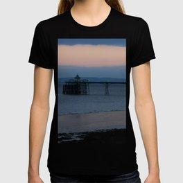 Clevedon Pier Sunset T-shirt
