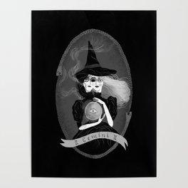 Gemini Witchy Zodiac Poster