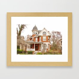 Mark Gross House Framed Art Print