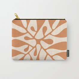 Matisse Inspired Abstract Cut Out orange Carry-All Pouch