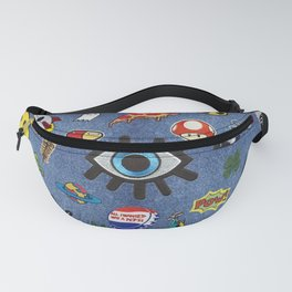 Patch Extravaganza Fanny Pack