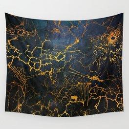 KINTSUGI  ::  Embrace Damage Wall Tapestry