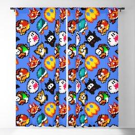 Super Mario World | Enemies Pattern | blue sky Blackout Curtain