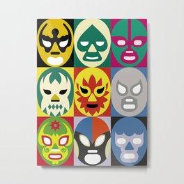 Lucha Libre 1 Metal Print