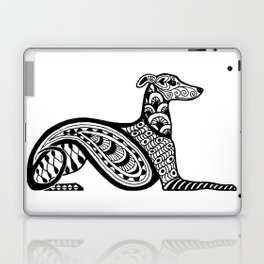 Zentangle Whippet Laptop & iPad Skin