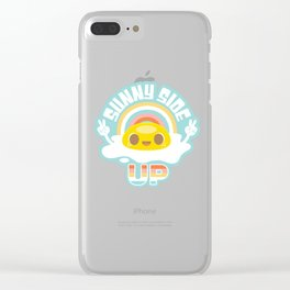 Sunny Side Up! Clear iPhone Case
